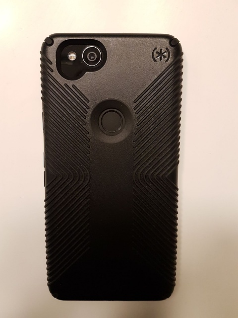 Just got my Speck case .  Maan this thing is grippy!-.jpg