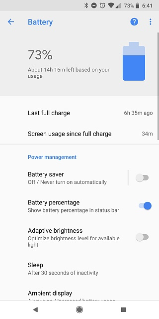 Pixel 2 XL Battery: Is Android System and/or Google Play Services Draining Me?-screenshot_20180316-184104.jpg