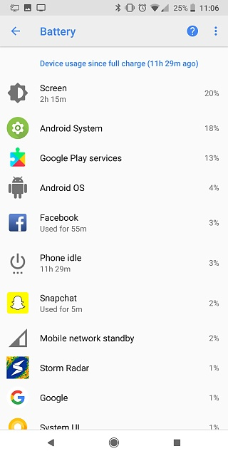Pixel 2 XL Battery: Is Android System and/or Google Play Services Draining Me?-screenshot_20180318-230646.jpg
