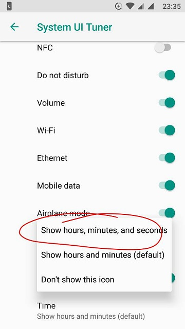 Displaying Hours, Minutes, AND Seconds in Notifications
