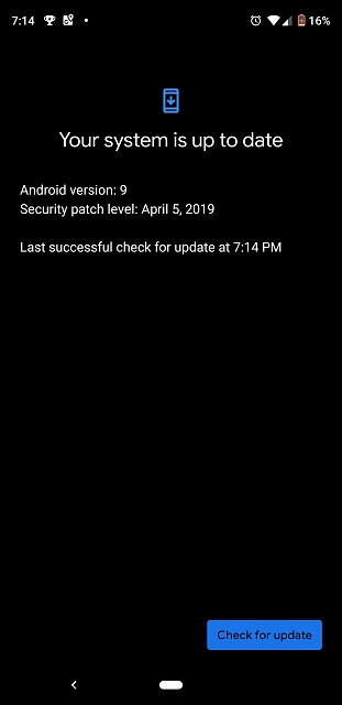 Anyone's else get a dark mode when trying to update to the may security release-screenshot_20190506-191432.jpg