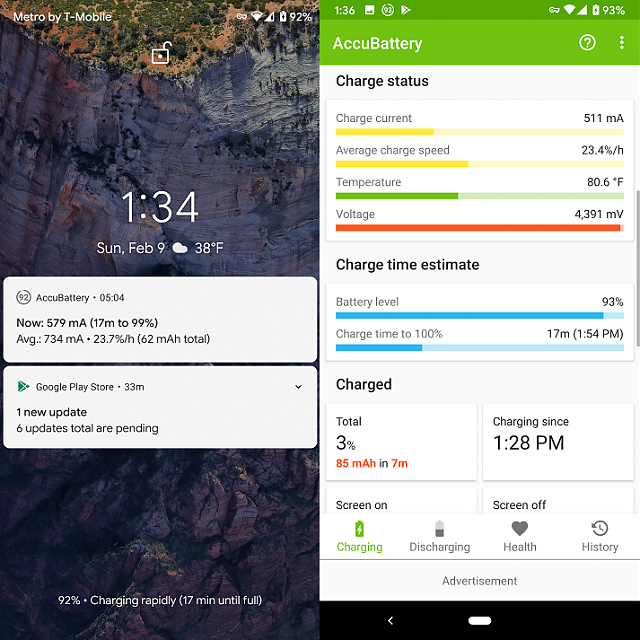 Pixel 3 not rapidly charging despite it saying so...-phone1.png