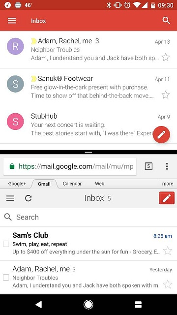 Google Pixel: is there a way to split screen within the same app in particular gmail?-14421.jpg