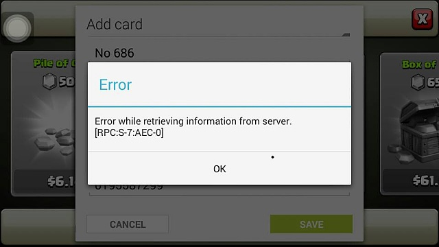 Google Play Error While Adding Credit Card - Android Forums at ...