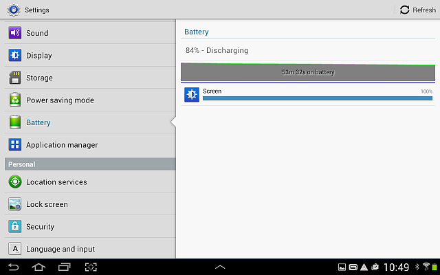 My battery is draining very fast, .. All used up by the display. Any suggestions?-screenshot_2016-02-08-10-49-01.png