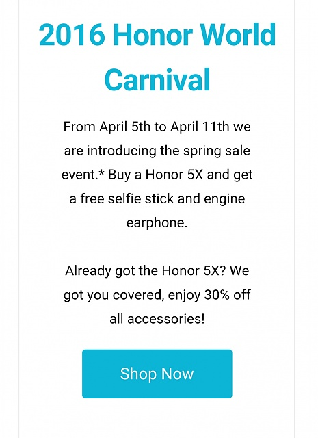 Buy a Honor 5X and get a free selfie stick and engine earphone.-uploadfromtaptalk1459896067998.jpg