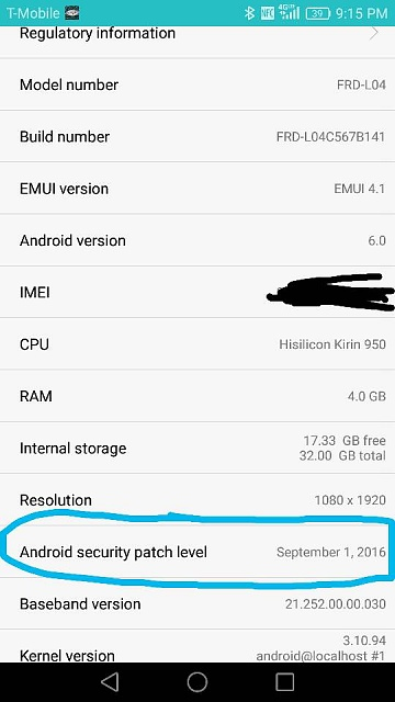 What security patch is the Honor 8 on?-img_20160923_213657.jpg