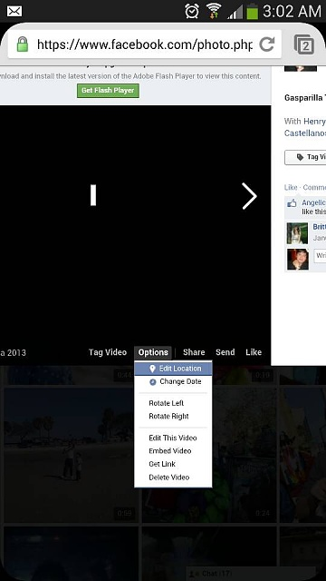 How to rotate a video and post to facebook android forums at how to rotate a video and post to facebook uploadfromtaptalk1368601468825g ccuart Image collections