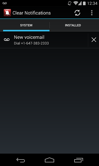 HTC Droid Eris: Voicemail notification icon won't go away-1.png