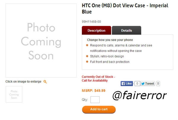 Leaked The all New hTC ONE ( M8 ) Dot View Case 原廠洞洞看掀蓋式手機殼 曝光售價-1395620341-2718198925_n.jpg