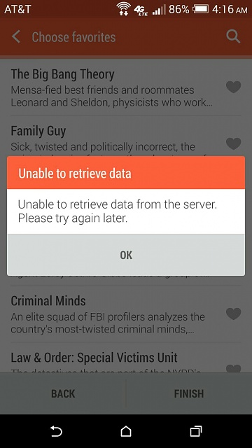 TV App not working - Android Forums at AndroidCentral com