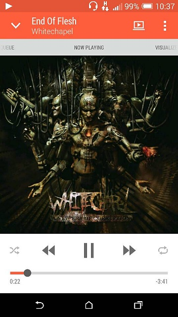 What are you listening to on your HTC One (M8)?-1398299990465.jpg