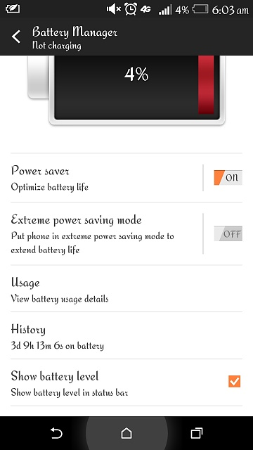 First Trial Run on my HTC One M8 Extreme Power Saver.-image.jpg