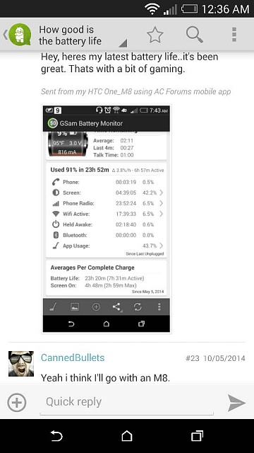My Htc one m8 battery is getting worst-1402967490870.jpg
