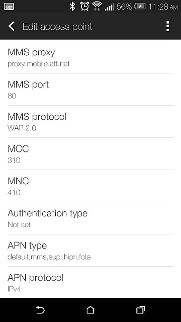 HTC One M8 AT&T 4G LTE APN Settings 2014-uploadfromtaptalk1405438106632.jpg