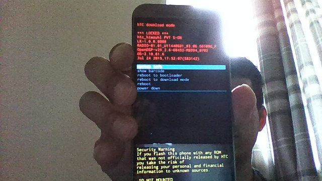 htc software status official locked s on