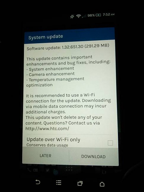 New to The U.S System update being pushed now. (sprint network)-img_20150411_075211.jpg