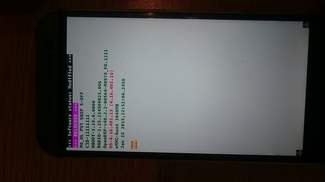 HTC One: Stuck in Bootloader and Can't get into Recovery