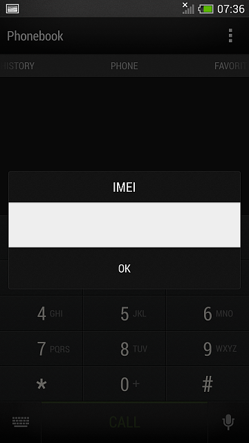 Any Solution for NO IMEI, NO BASEBAND on HOX ? - Android
