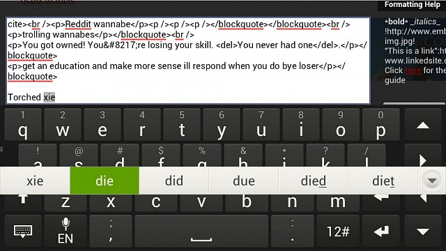 Typing suggestions in middle of keyboard-uploadfromtaptalk1358787042426.jpg