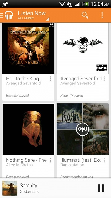 Ok folks lets see what people are listening to on google play all access :)-1376197789081.jpg