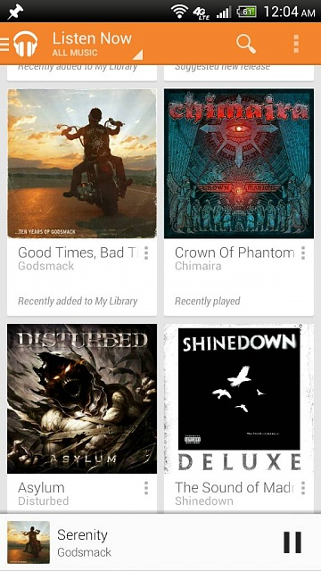 Ok folks lets see what people are listening to on google play all access :)-1376197815435.jpg