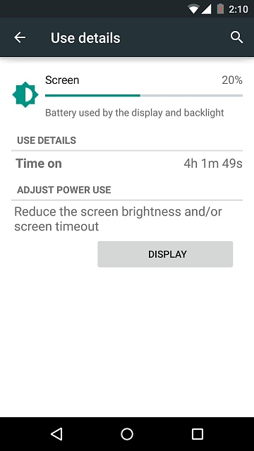 Android Lollipop 5.0 - N5 Screen on Time Battery Drain-1417293748190.jpg