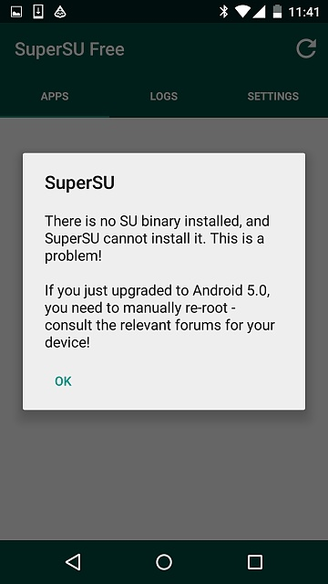 I rooted my nexus5 and unrooted with SuperSU to update but im having problems-screenshot_2015-10-02-11-42-00.jpg
