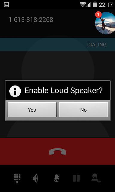XP7: how to Disable a popup that appears when activating Speaker Phone-enable-loud-speaker.png