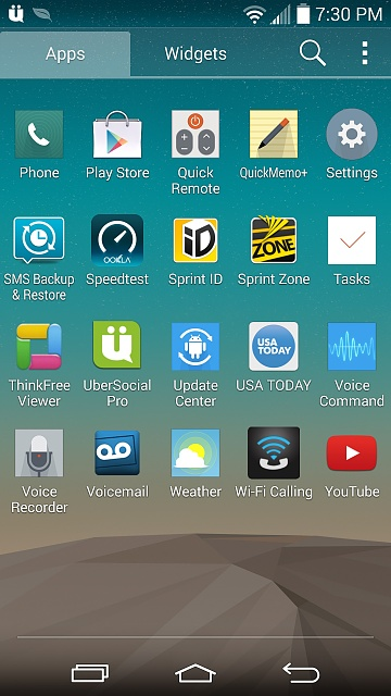 Wifi Calling on sprint G3, Cant find it - Android Forums at