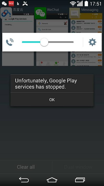 Google Play Services not working on LG G3? - Android Forums at ...