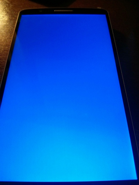 Why is my LG G3 boot looping to a blue screen? - Android