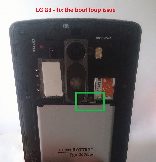The Lg G3 Update Caused A Boot Loop How Can I Get Out Of