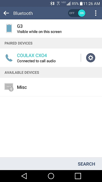 Bluetooth call audio working, but suddenly media audio does not work