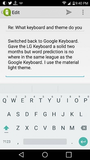how to change lg keyboard theme