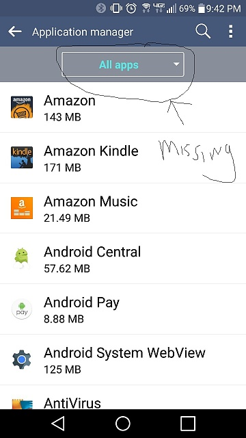 Marshmallow application manager missing drop down android forums marshmallow application manager missing drop down screenshot2016 02 21 21 42 publicscrutiny Choice Image
