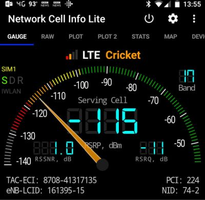 Won't stay connected to 4G lte - Android Forums at
