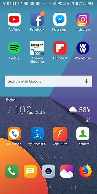 Why are my LG G6 icons locked after unlock until I hit nav