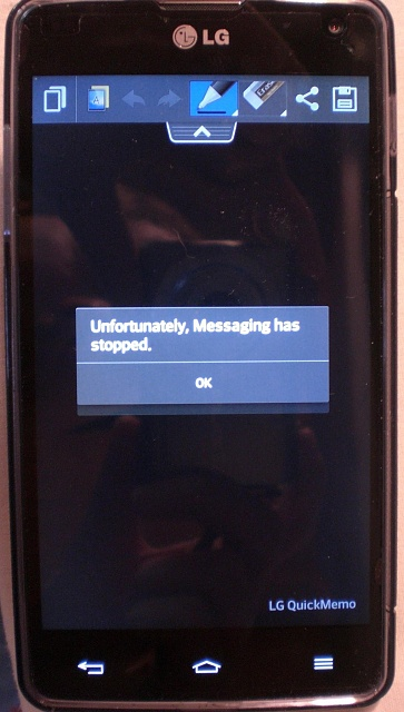 Unfortunately messaging has stopped' - Android Forums at