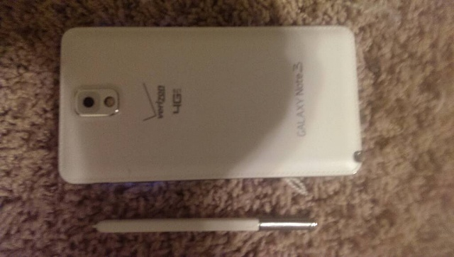 WTS Samsung Galaxy Note 3 Verizon (white) Mint like Brand New!-1396672326810.jpg