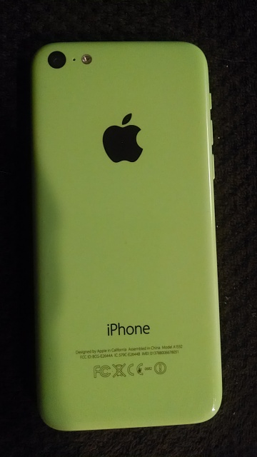 iPhone 5c Unlocked (AT&T branded) 32 GB Green-img_20140407_222412388.jpg