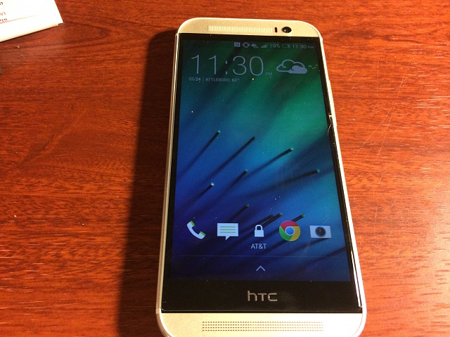 WTS HTC One M8 32gb Silver ATT-photo.jpg