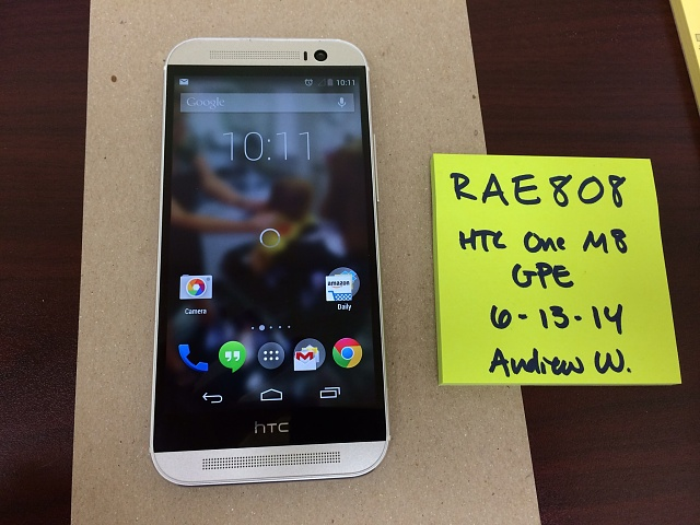 *MINT* HTC One M8 Google Play Edition *TRUSTED SELLER*-image-2-.jpg