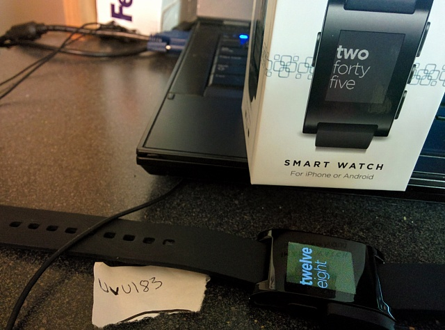 Pebble Smartwatch (Black)  shipped or  local-img_20140626_014844.jpg