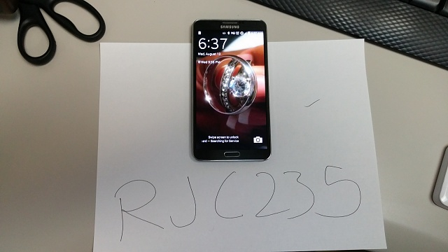 GREAT CONDITION NOTE 3 verizon! with extras!-0813140637.jpg
