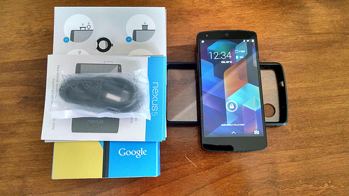 Nexus 5 32GB Great Condition! w/case and original box, etc. AT&T T-Mobile Sprint-15484935746_729c342a6f.jpg
