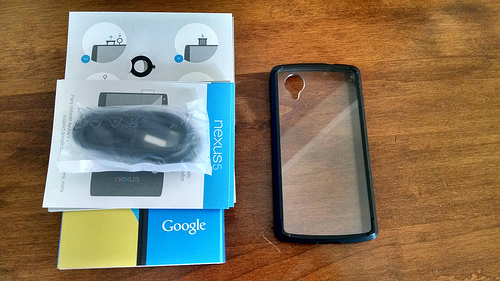 Nexus 5 32GB Great Condition! w/case and original box, etc. AT&T T-Mobile Sprint-15507710302_08d103bc02.jpg