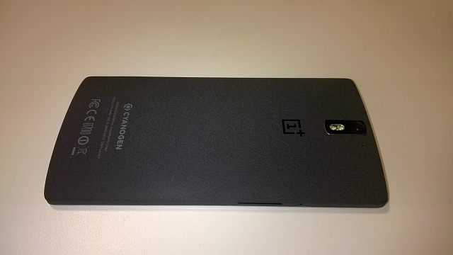 ++MINT++ OnePlus One 64GB Sandstone Black +Case+Tempered Glass Screen Protector-wp_20150113_008.jpg