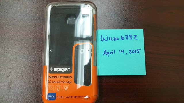 New/Unused - Assorted Galaxy S6 and S6 edge Spigen Cases-20150414_144337.jpg