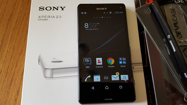 Sony Xperia Z3 Compact (Unlocked), Black, 16 GB, Mint condition, with extras-20150530_085917.jpg